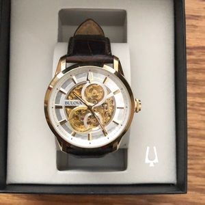 A used Bulova watch in amazing condition!